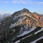 10月の燕岳
