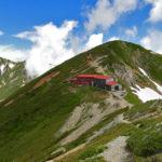 唐松岳~五竜岳登山報告(二日目、五竜岳からの復路&下山編)