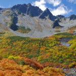 紅葉最盛期の涸沢&北穂高 登山報告1